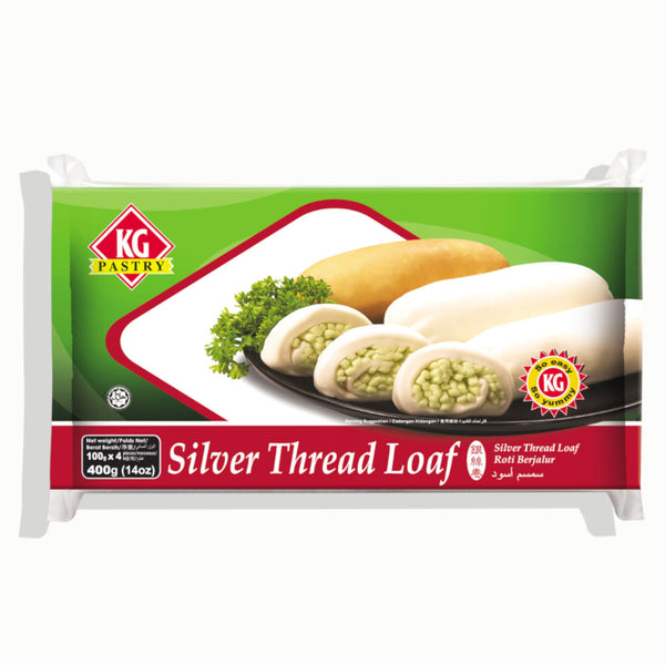Silver Thread Loaf Plain (4 pcs - 400g)
