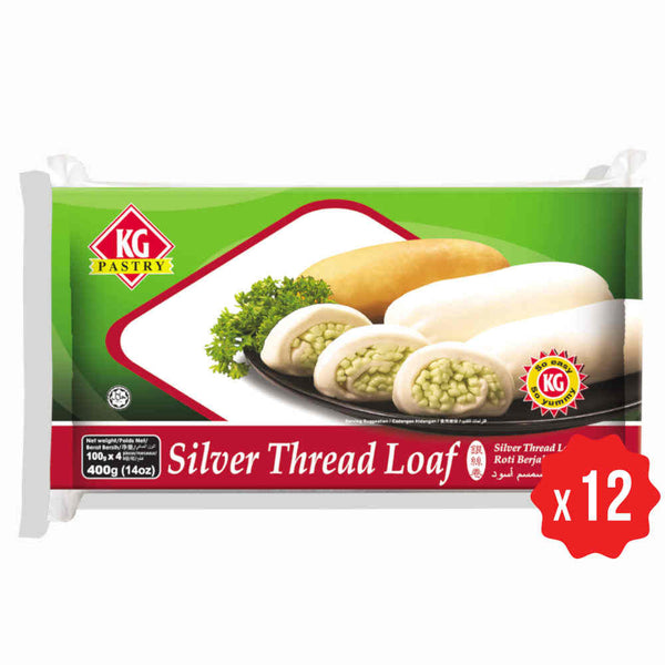 [Carton] Silver Thread Loaf Plain (400g x 12 packets)