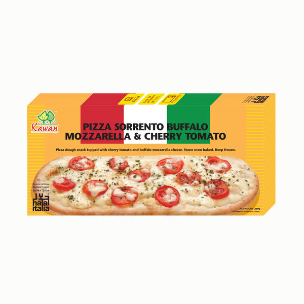 Pizza Sorrento Buffalo Mozzarella & Cherry Tomato (280g)
