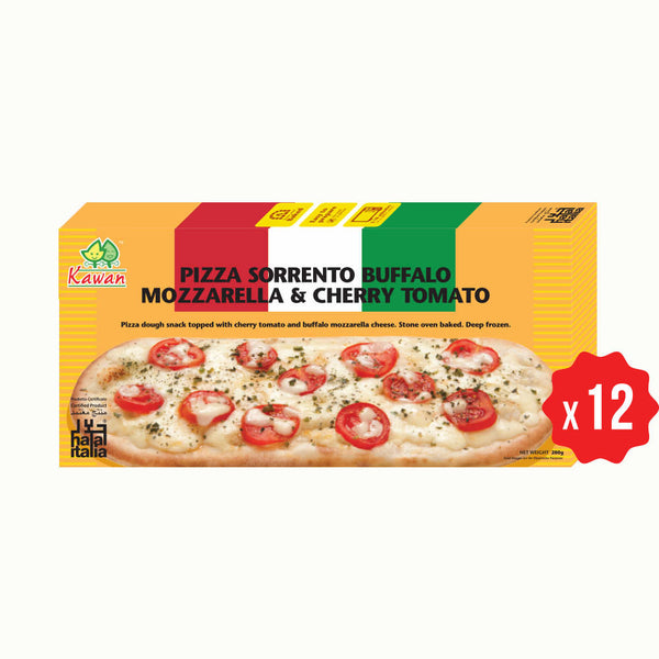 [Carton] Pizza Sorrento Buffalo Mozzarella & Cherry Tomato (12 packets x 280g)