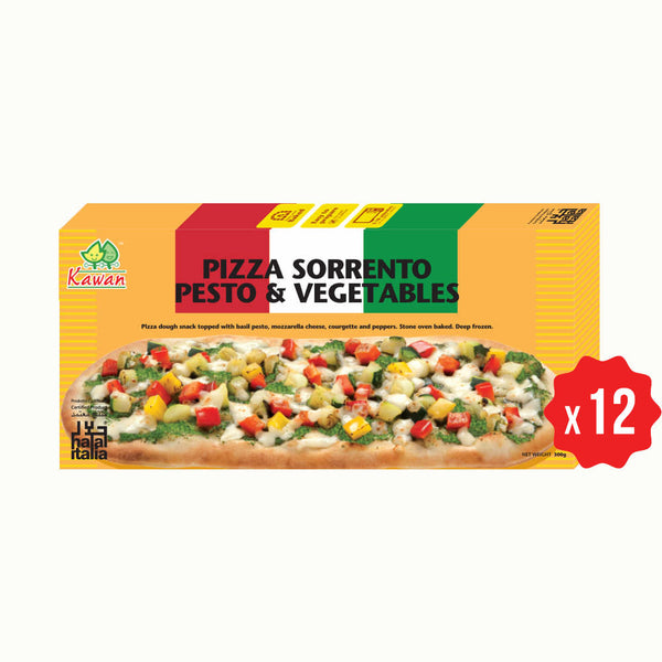 [Carton] Pizza Sorrento Pesto & Vegetables (12 packets x 300g)