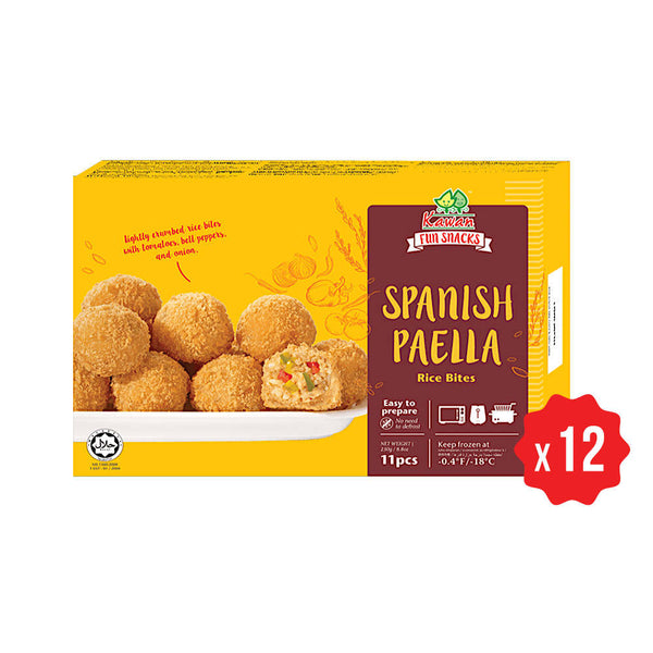 Spanish Paella Rice Bites (11 pcs - 250g)