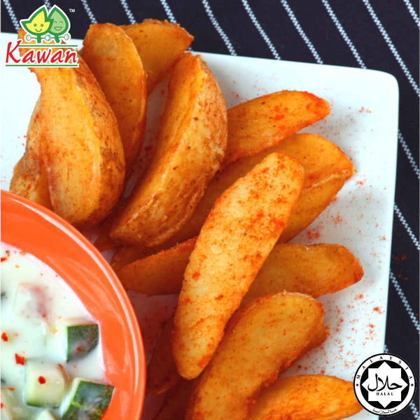 [Carton] Spicy Wedges (1kg x 10 packets)