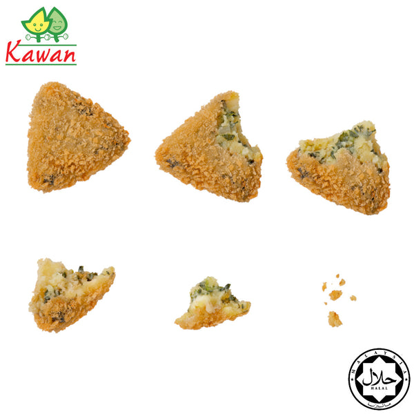 [Carton] Spinach & Cheese Croquette (13 pcs x 12 packets)