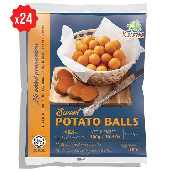 [Carton] Sweet Potato Ball (30pcs x 10g x 24pkts)