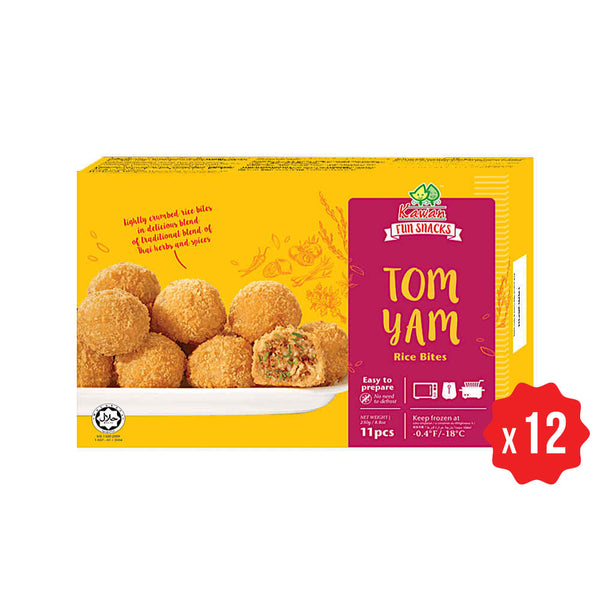[Carton] Tom Yam Rice Bites (11 pcs x 12 packets)