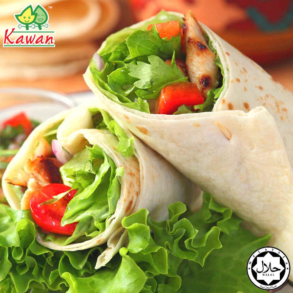 "[Carton] Tortilla Wraps Wholemeal 8"" (360g x 20 packets)"