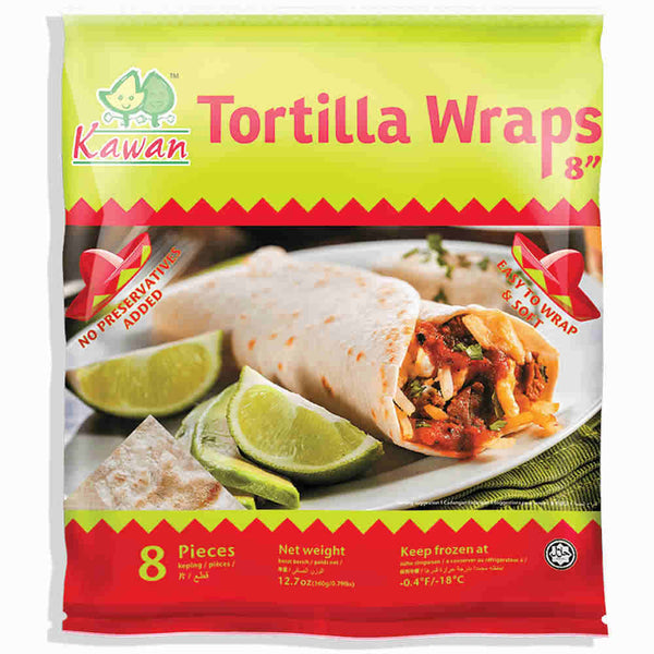 "Tortilla Wraps 8"" (8 pcs - 360g)"