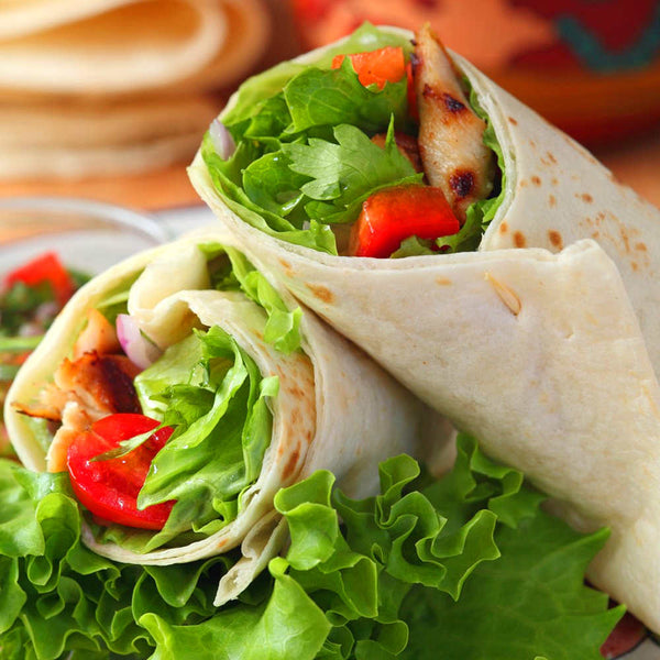 [Food Service] Tortilla Wraps 8 Wholemeal (8 pcs x 45g x 20 pkt)