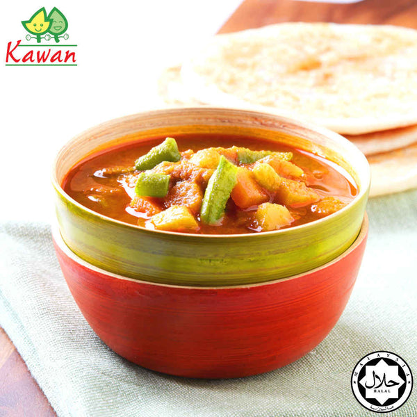 [Carton] Vegetable Curry (260g x 24 packets) by Kawan Food Malaysia Online Store