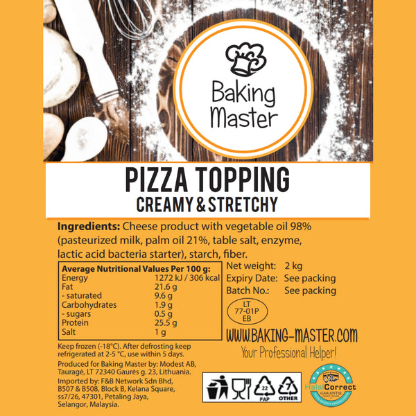 Baking Master Pizza Topping (2kg) Expiry: 25 January 2021