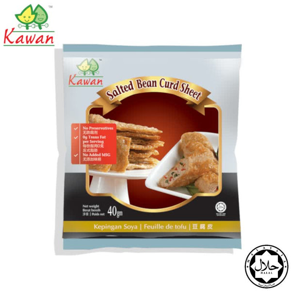 KAWAN Salted Beancurd Sheet - 40g (Expiry: 21 Aug 2020)