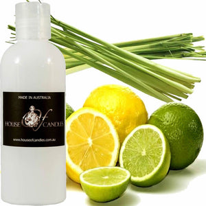 LEMONGRASS & PERSIAN LIMES BATH BODY MASSAGE OIL