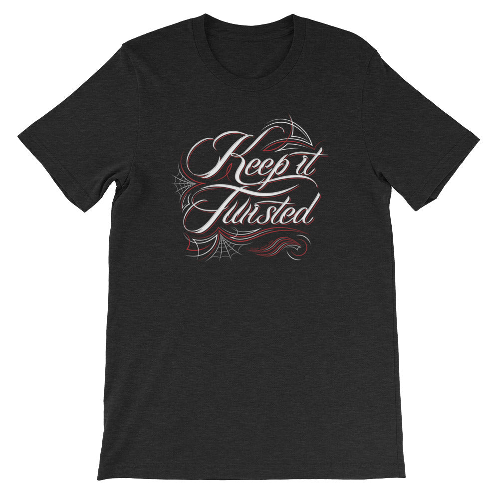 Keep it Twisted Pinstripe Vintage T-Shirt
