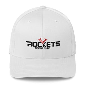 Rockets Speed Shop Logo Fitted Hat