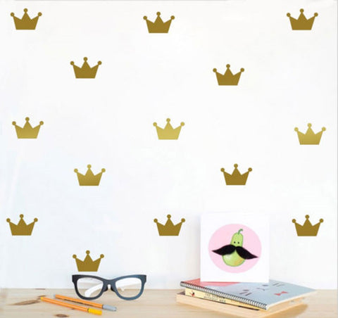 Crown Wall Stickers - friday kids co.