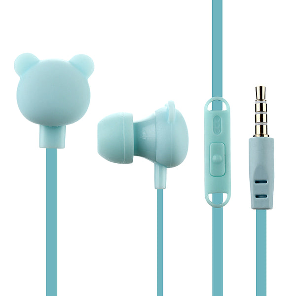 Bear Earphones - friday kids co.