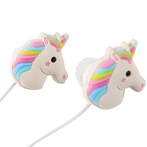 Unicorn Earphones - friday kids co.