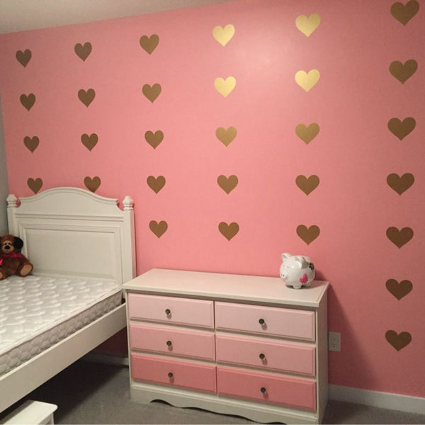 Love Heart Wall Stickers - friday kids co.