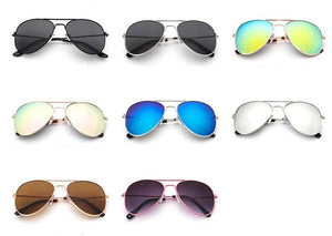 Aviator Sunglasses for children. Cool kids accessories available at Friday Kids Co.