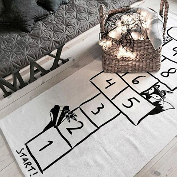 HopScotch Rug - friday kids co.