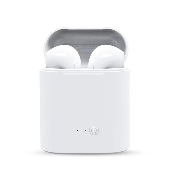Wireless Bluetooth Earphones - White & Black - friday kids co.