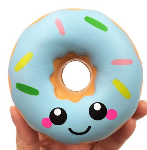 Happy Sprinkled Donut Squishy - friday kids co.