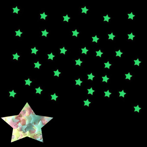 Glow In The Dark Star Stickers