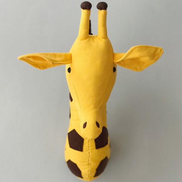 Giraffe Head Wall Decor