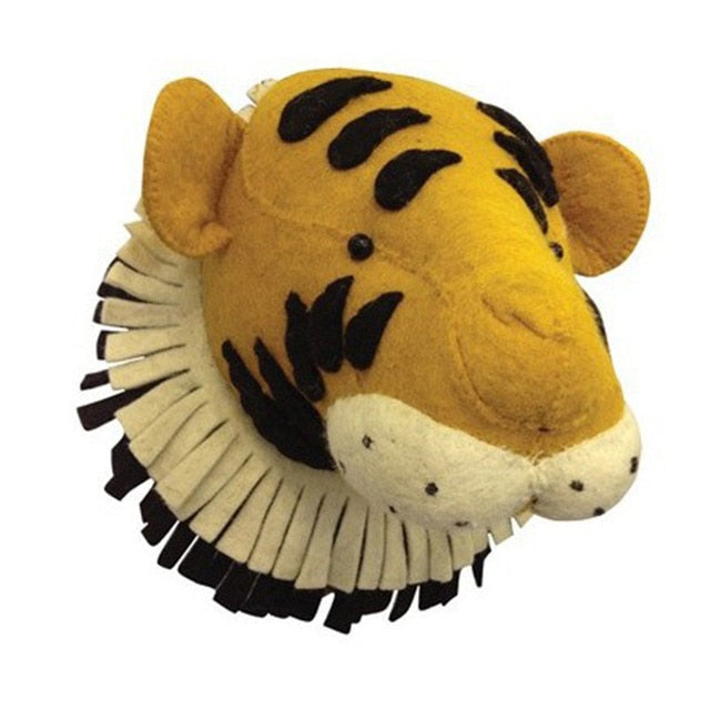 Tiger Head Wall Decor