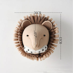 Lion Head Wall Decor