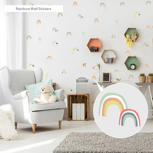 Friday Kids Co Rainbow Wall Stickers