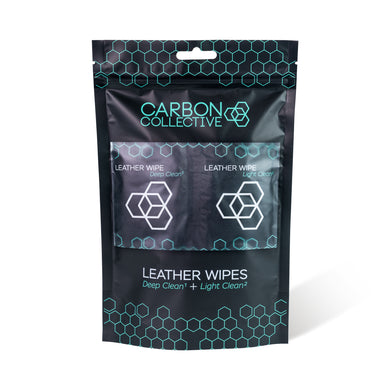 Carbon Collective Leather Wipes