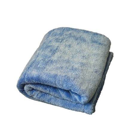 The Blue Monster Dual Twisted Pile Drying Towel – 70 x 90cm 1400gsm