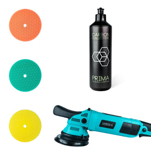 Carbon Collective HEX-15 Dual Action Machine Polisher – 15mm