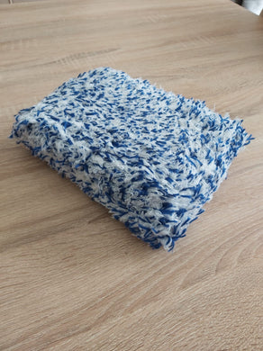 Korean Microfibre - Plush Blue (Extra Thick Korean Double Sided Wash Pad)