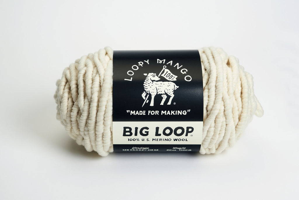 Big Loop Yarn - theobservatory.shop Loopy Mango - manos