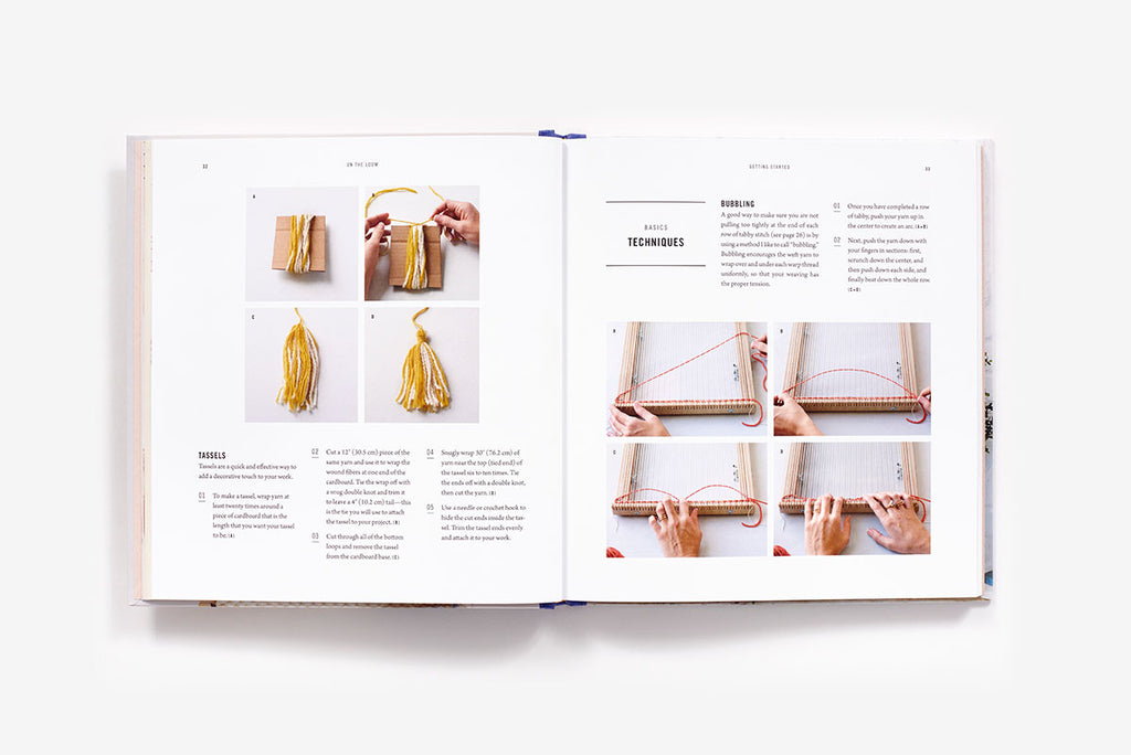 On The Loom: A Modern Weaver's Guide - theobservatory.shop Abrams - manos
