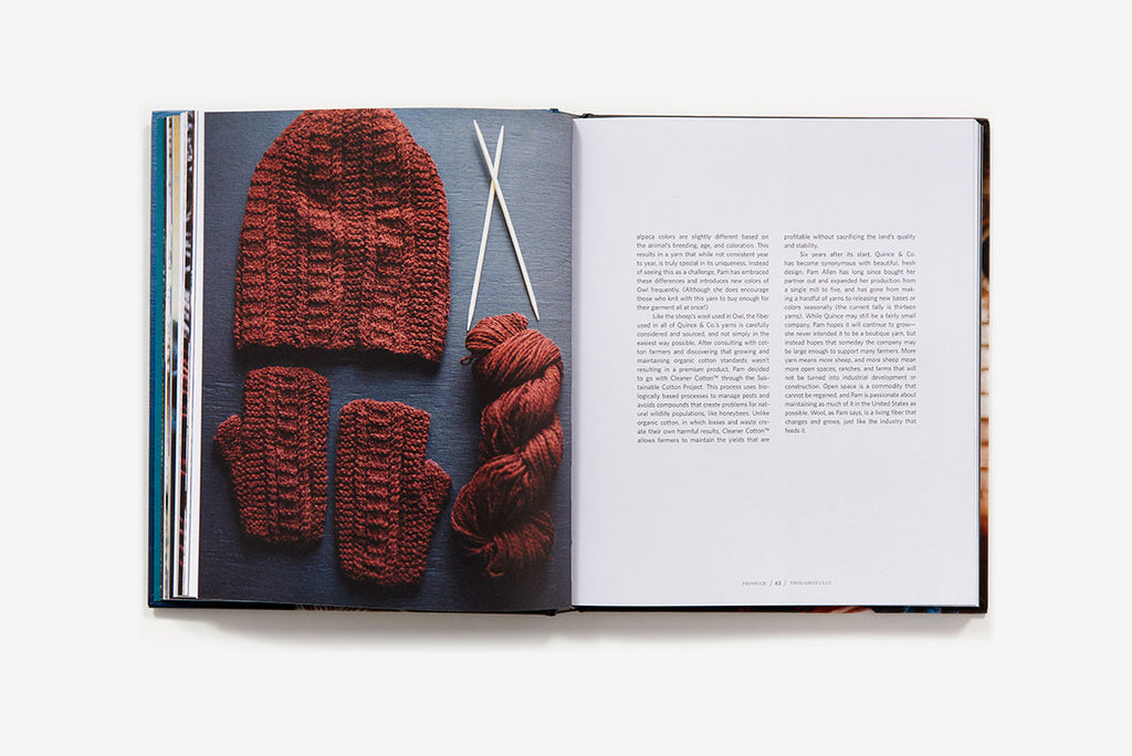 Slow Knitting: A Journey From Sheep to Skein to Stitch - theobservatory.shop Abrams - manos