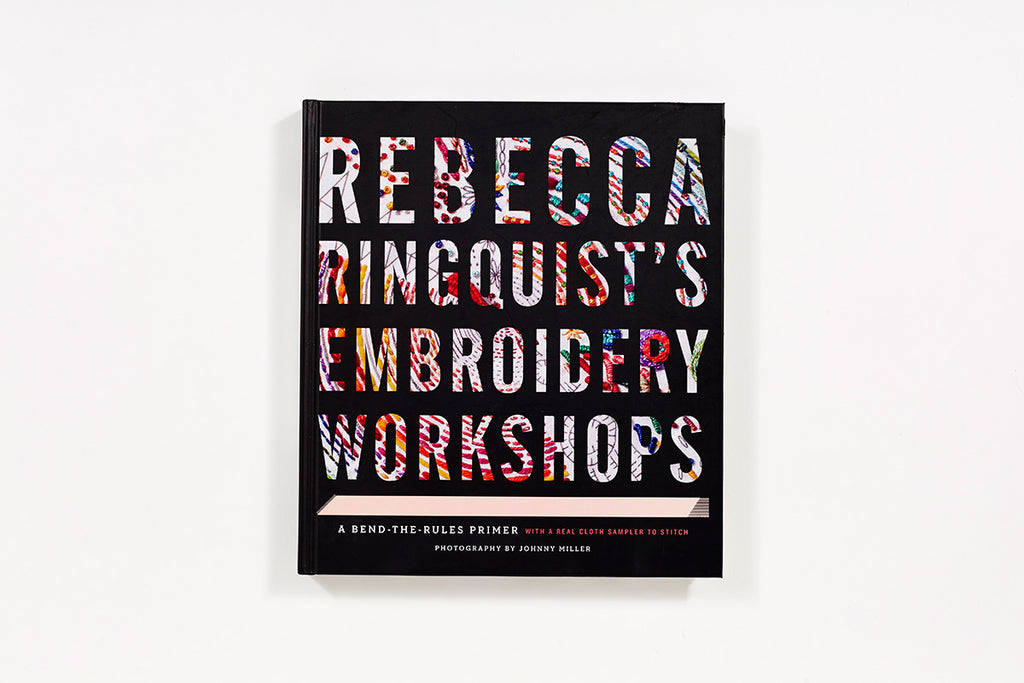 Rebecca Ringquist's Embroidery - theobservatory.shop Abrams - manos