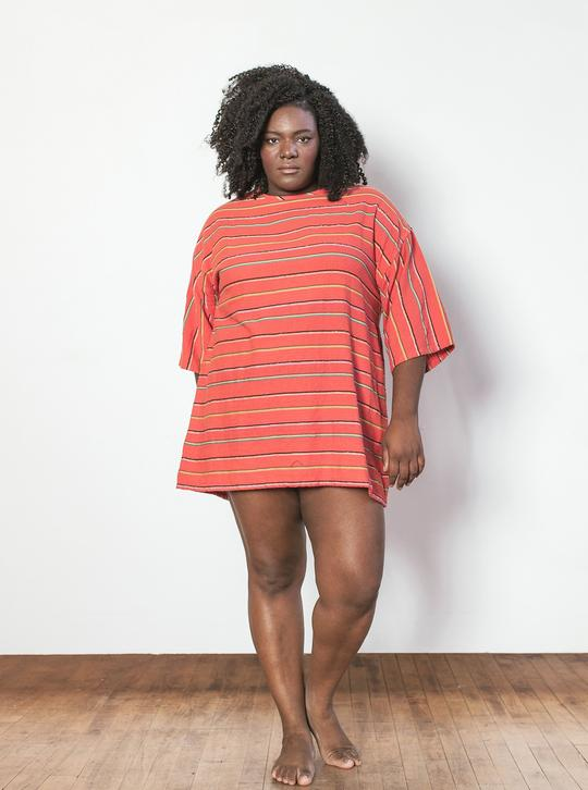 Liv Mini Dress in Rhumba - theobservatory.shop Ace & Jig - manos