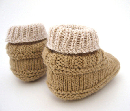 The Baby Moc-a-Soc by Bekah Knits - theobservatory.shop Deep South Fibers - manos