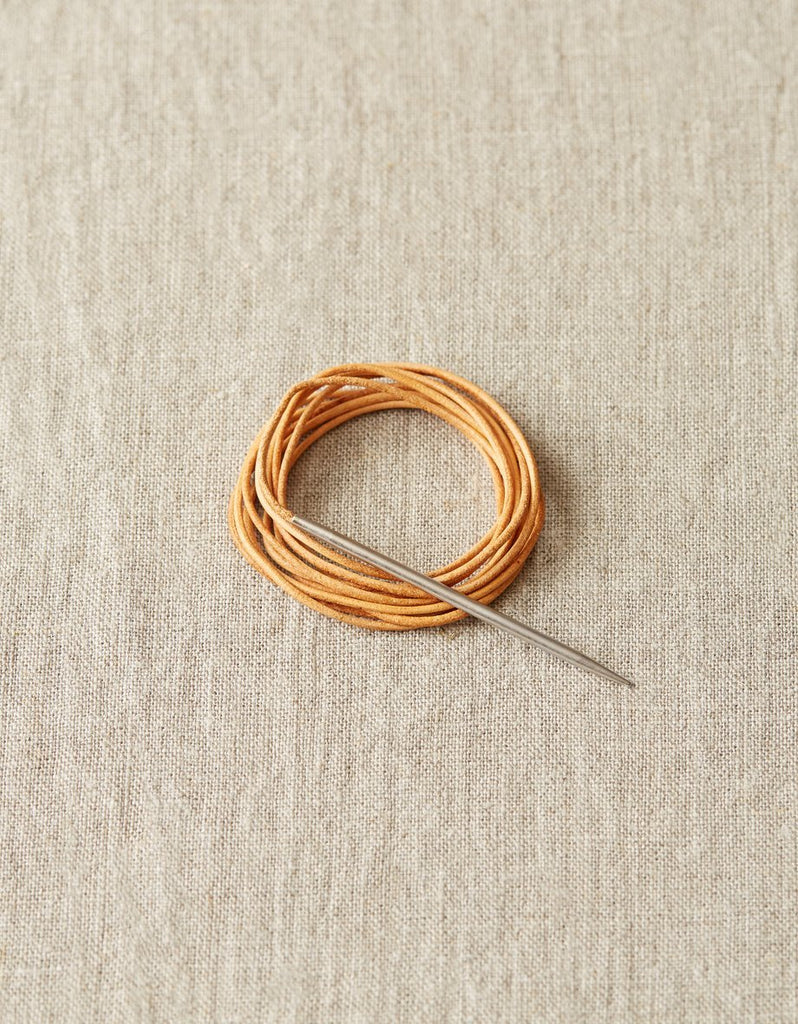 Leather Cord & Needle Kit