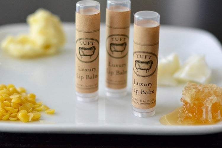 Luxury Lip Balm - theobservatory.shop Tuft Woolens - manos