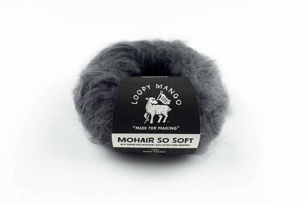 Mohair So Soft - theobservatory.shop Loopy Mango - manos