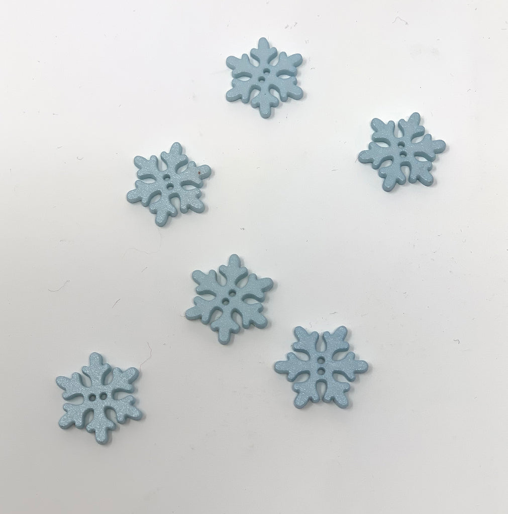 Snowflake Button - theobservatory.shop Dill Buttons - manos
