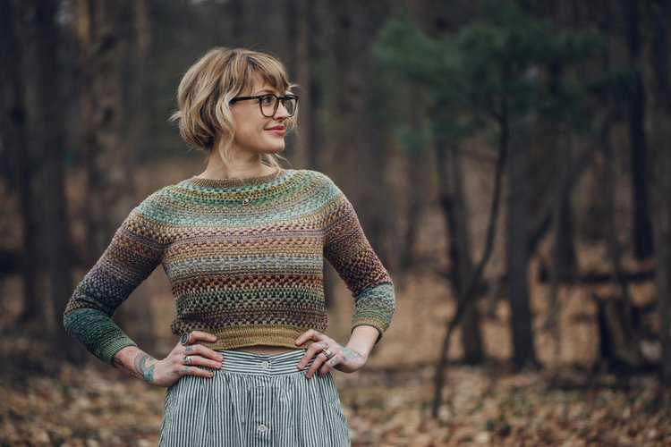 Shifty Pattern by Drea Renee Knits - theobservatory.shop Drea Renee Knits - manos