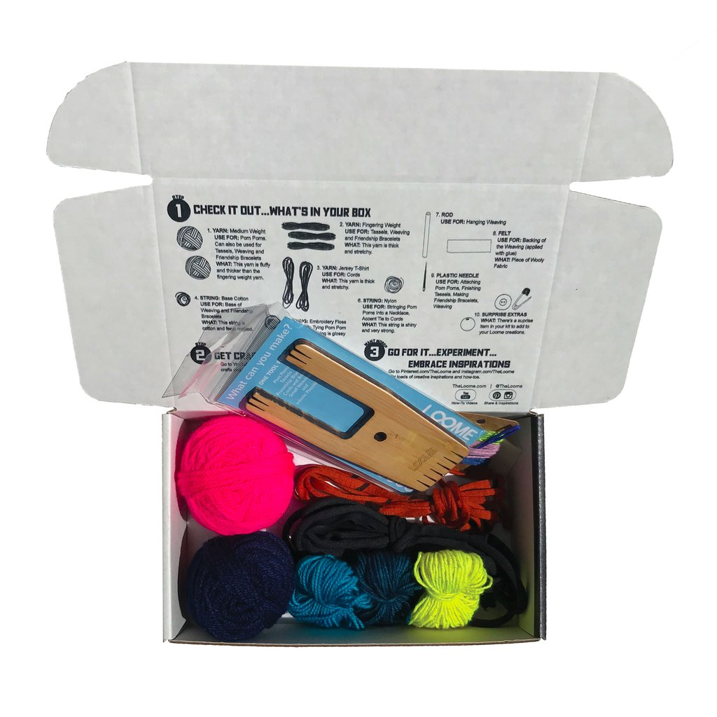Loome 5-Crafts-in-a-Box - theobservatory.shop Loome - manos