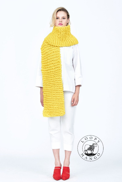 Virtual Intro to Knitting 101 • Scarf - theobservatory.shop Class - manos