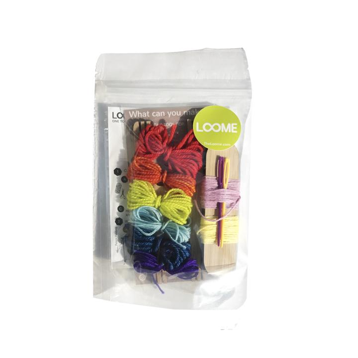 Loome Friendship Bracelet Kit - theobservatory.shop Loome - manos